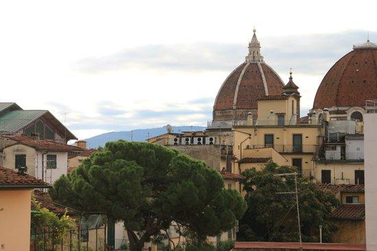 Hotel Fiorita: Флоренция из окна 4