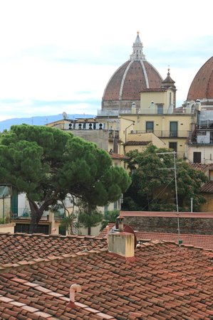 Hotel Fiorita: Флоренция из окна 2