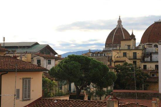 Hotel Fiorita: Флоренция из окна 6