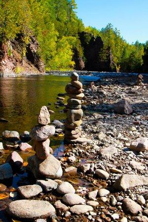 Copper Falls State Park: river