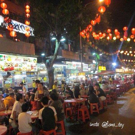 Jalan Alor : Restaurants along Food Street
