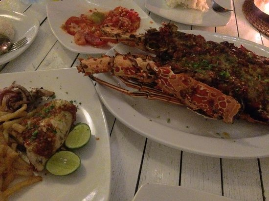Scallywags: The lobster, squid and sambal matah