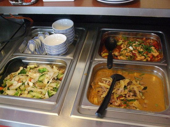 Thai Food Corner: Buffet items