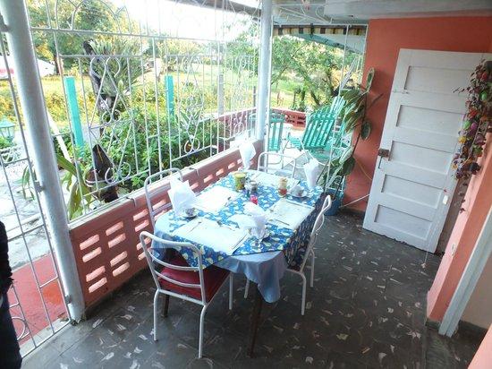 Casa Villa Gena : Comedor