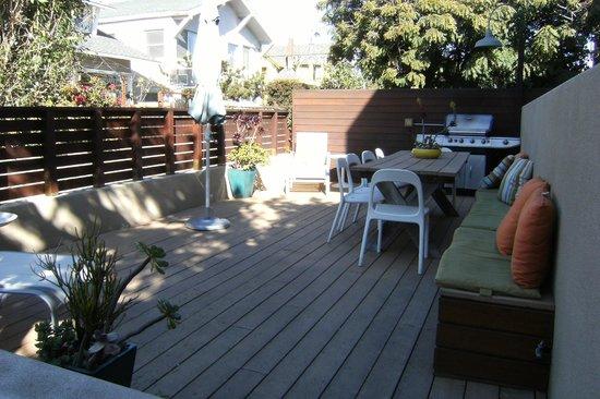 Venice Suites : Deck