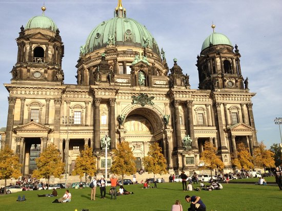 Fat Tire Tours Berlin: Church