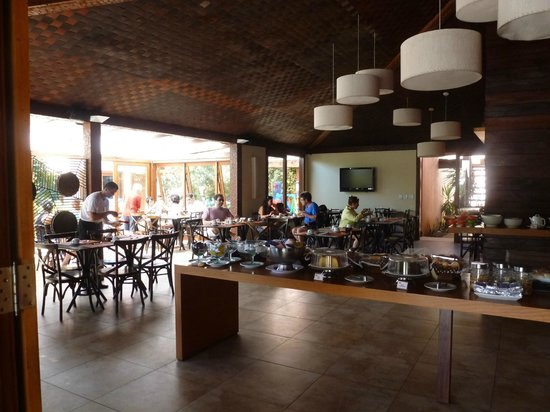 Corais e Conchas: RESTAURANTE - CAFE DA MANHA E ALMOÇO