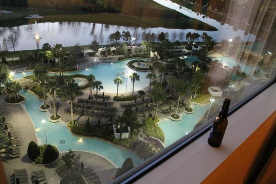 Hilton Orlando Bonnet Creek: View from room