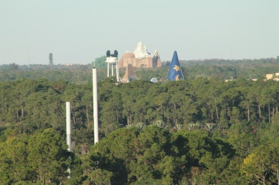 Hilton Orlando Bonnet Creek : View from room