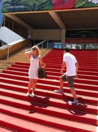 Palais des Festivals et des Congres of Cannes: Red carpet moment