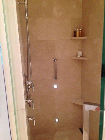 Hotel Bel-Air: shower