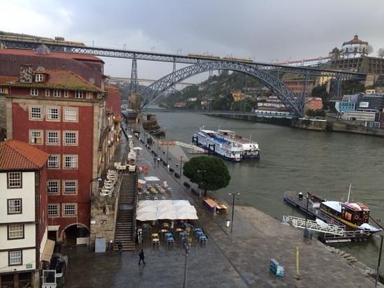 Pestana Porto Hotel: a vista do meu quarto.