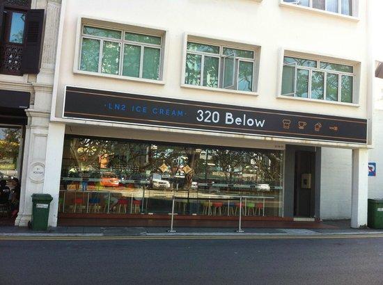 320 Below Nitro Cream Cafe - Singapore