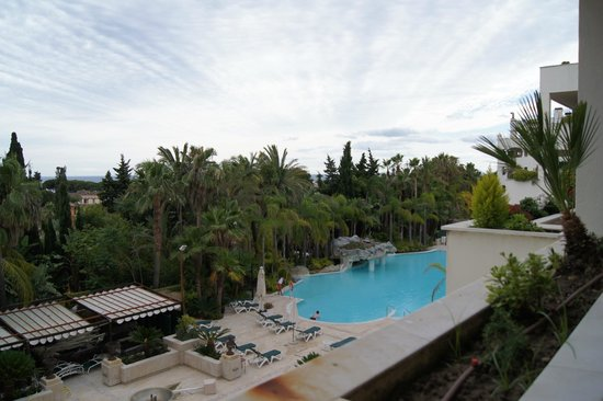 Guadalpin Suites: The view from our room