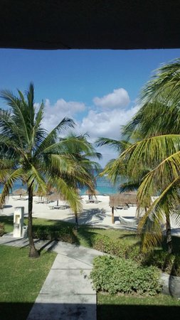 Presidente Inter-Continental Cozumel Resort & Spa: A room with a view!