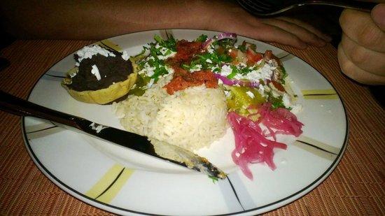 Presidente Inter-Continental Cozumel Resort & Spa: Dinner at Cana Brava Bar & Grill