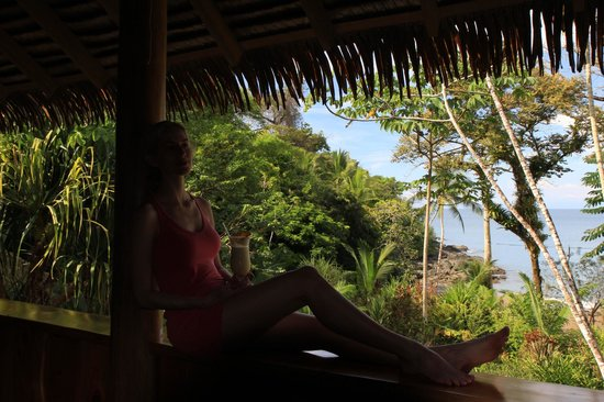 Copa de Arbol Beach and Rainforest Resort: View from the main hotel lodge/restaurant