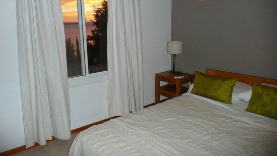 Cabañas Los Acantilados: Hermosa habitación!
