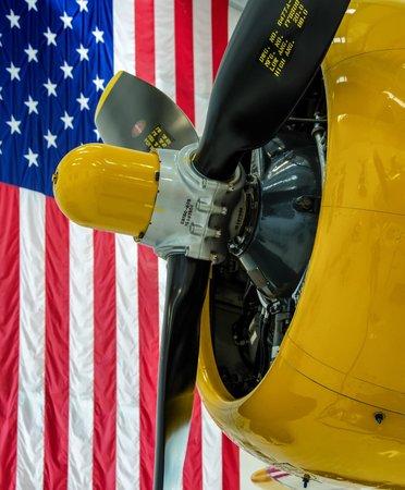 Lyon Air Museum: A Colorful Reminder