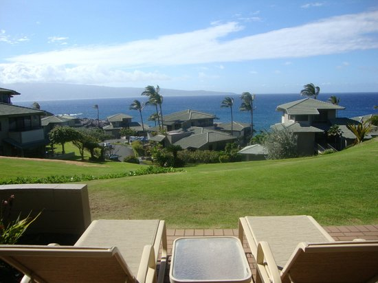 The Kapalua Villas, Maui: View from patio