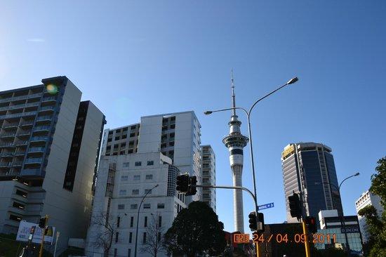 Sky Tower (Torre del cielo): se ve desde cualquier lado