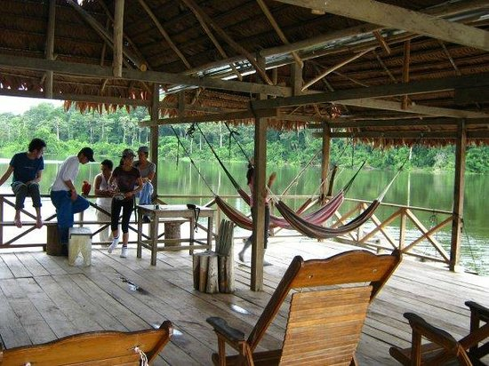 Amazon King Lodge: zona de descanso
