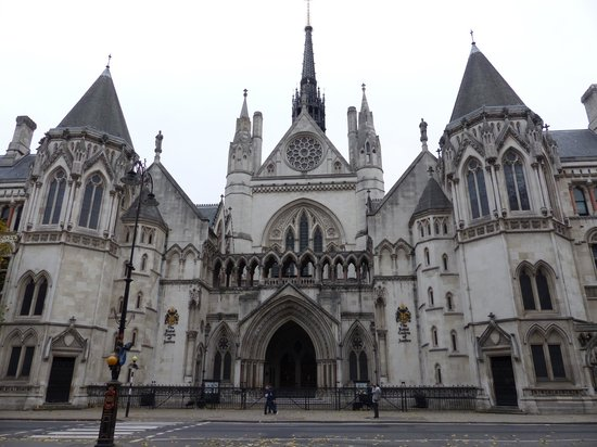 Royal Courts of Justice - Victorian Gothic architecture - Picture ...