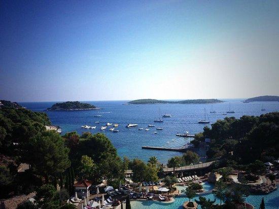 Amfora Hvar Grand Beach Resort: view from our room