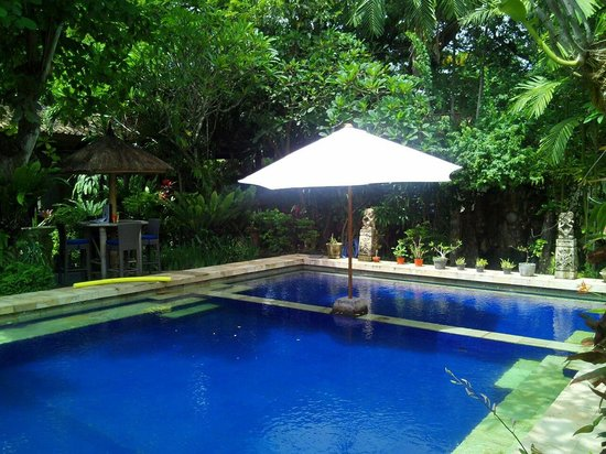 Sanur Beach Villas : Lovely and relaxing pool area