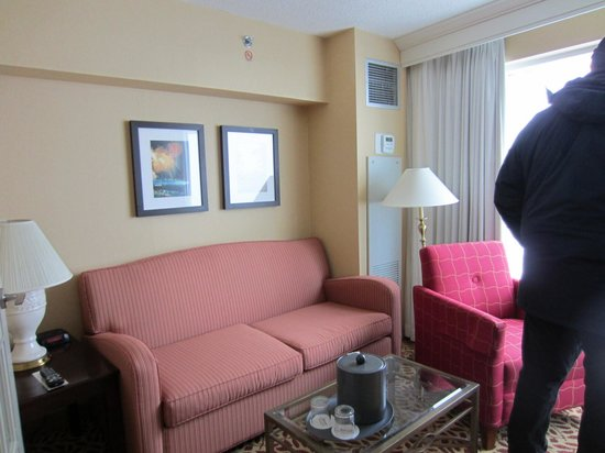 Niagara Falls Marriott Fallsview Hotel & Spa: Room 1619