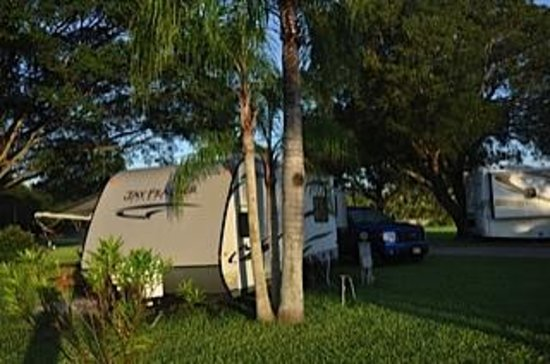 Miami Everglades Resort: My campsite at Miami Everglades