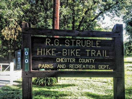 The Struble Trail: Sign