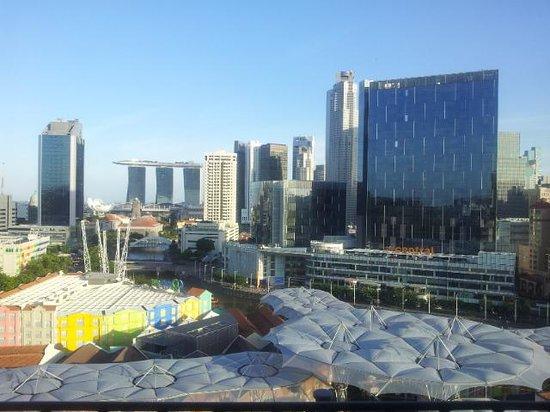 Novotel Singapore Clarke Quay: view from room