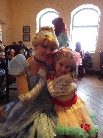 Cinderella at Akershus Royal Banquet Hall