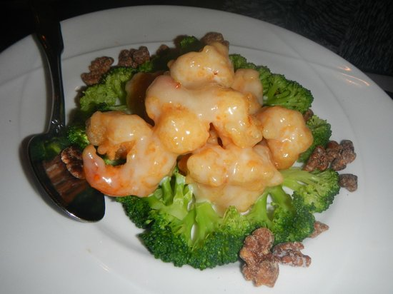Lemon Grass: Walnut Shrimp