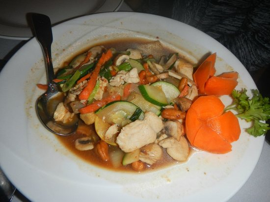 Lemon Grass: Cashew Nut with Chicken