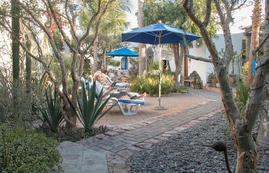 El Angel Azul Hacienda: Courtyard General View