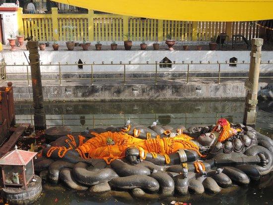 Budhanilkantha: only Hindu allowed enter