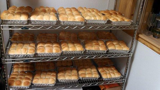 Dusty's Meat Market: homemade rolls