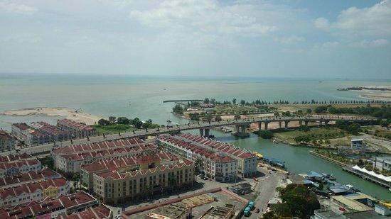 Menara Taming Sari: Sea view from the Menara