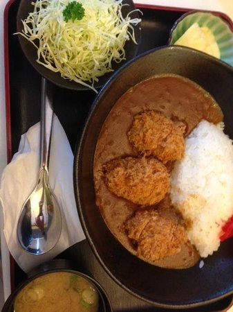 Ginza Bairin : Katsu curry
