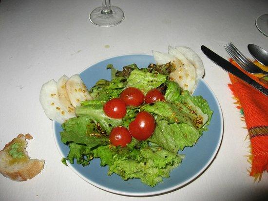 Villas Loma Linda: Jose's salad