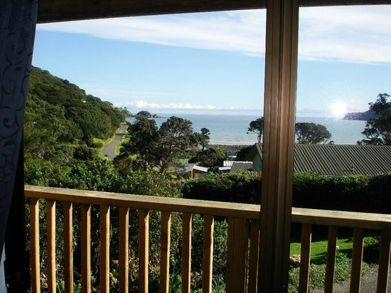 Manuka Lodge: View from Unit