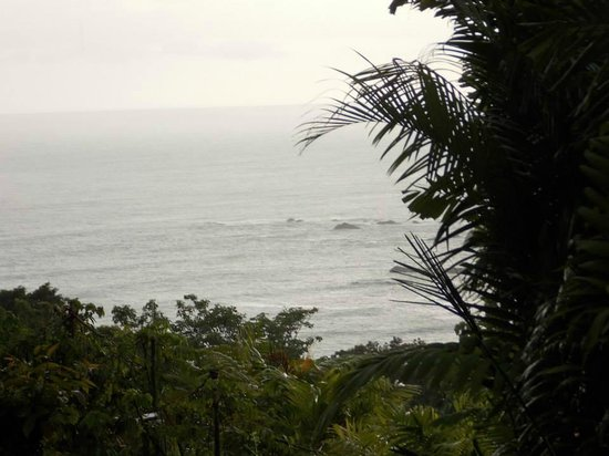Hotel Costa Verde: Partial Ocean View from our room