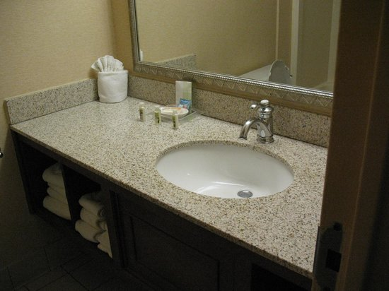 Clean bathroom foto di holiday inn pigeon forge pigeon for 9 bathroom cleaning problems solved