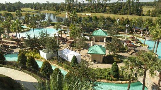 Hilton Orlando Bonnet Creek : Hermosa vista