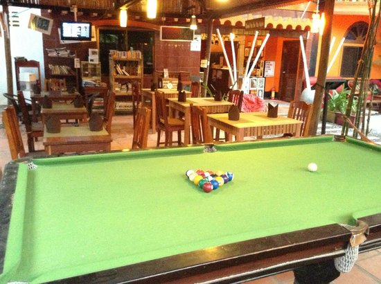 The City: Pool table free of charge,