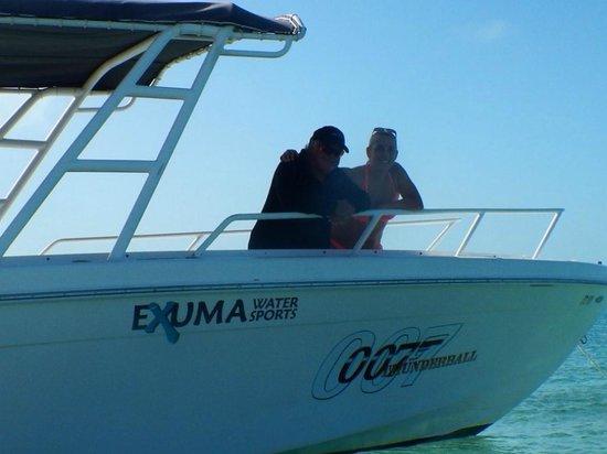 Sandals Emerald Bay Golf, Tennis and Spa Resort : Captain 007 Exuma Water Sports