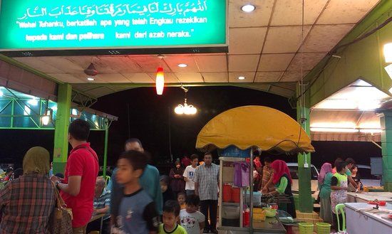 Ana Ikan Bakar Petai : many customers during weekend