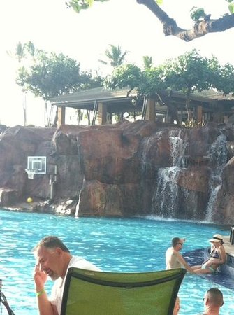 Hyatt Regency Maui Resort and Spa: incredible pool area, one of many great attractions